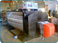 Three Pass Fully Wet Back Hot Water Boiler