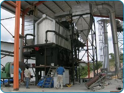 Water Wall Membrane Panel Hot Water Boiler