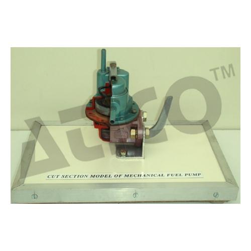 Cut Section Model Of Fuel Pump Diaphragm Type