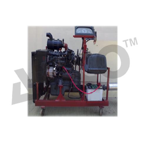 Four Stroke Diesel Engine Setup Working