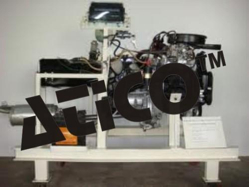 Four Stroke Petrol Engine Setup Working Condition