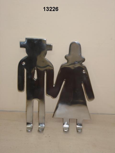Aluminium Couple Hanger