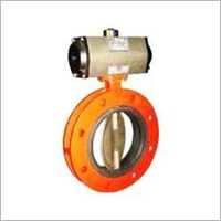 Double Flanged Type Butterfly Valves
