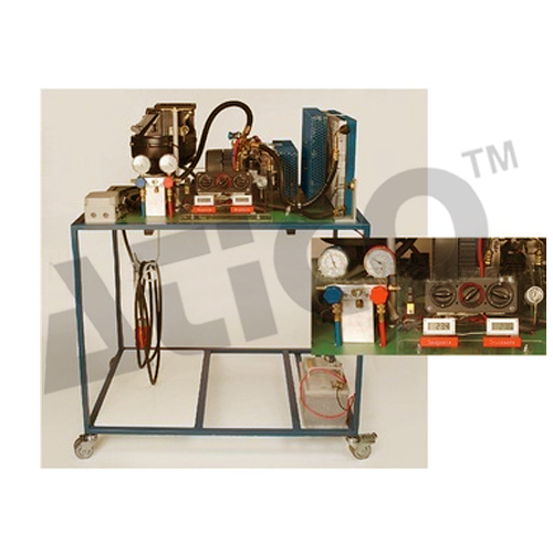 Cut Section Model Of Air Conditioning System