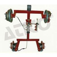 Cut Section Model Of Hydraulic Brake Unit Four Whe