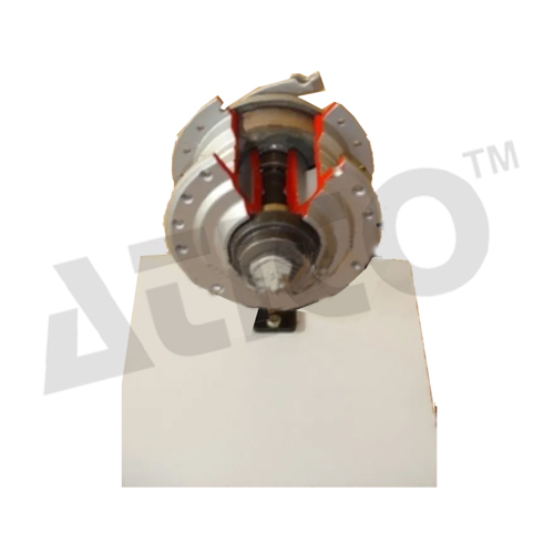 Cut Section Model Of Air Brake System Non Working