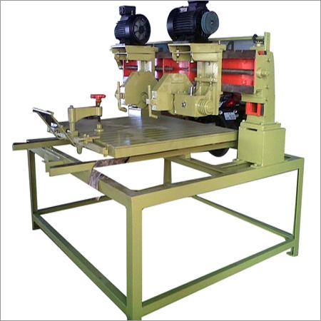 Granite Tiles Manual Double Edge Cutting Machine