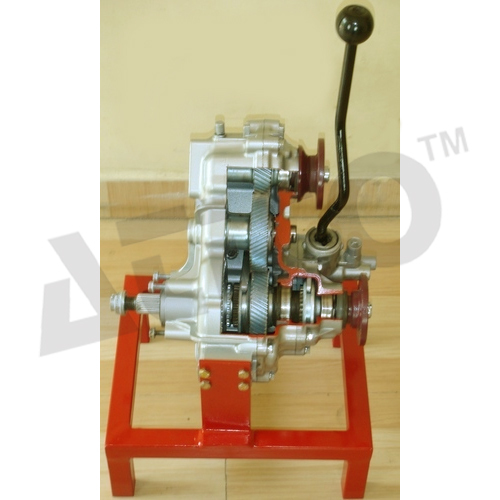 Model Of Cut Sectioned Transfer Case Assembly