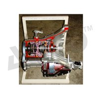 Cut Section Model Of Automatic Transmission Of AC