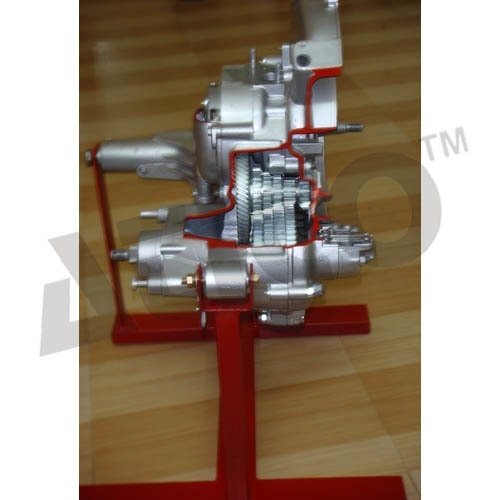 CUT SECTION MODEL OF CONSTANT MESH GEAR BOX WORKING