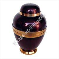 Brass Urn Jars