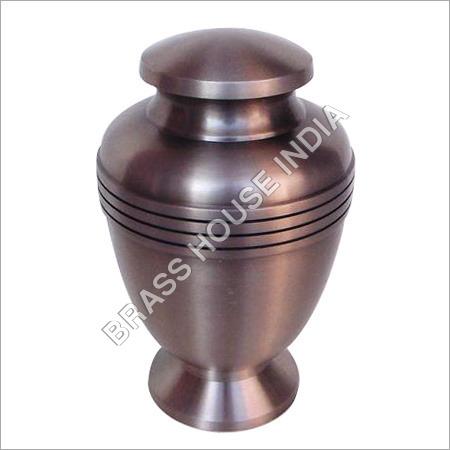 Satin Finish Bronze Urn