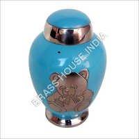 Colored  Brass Urn