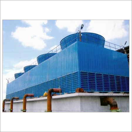 FRP Induced Draft Cooling Towers