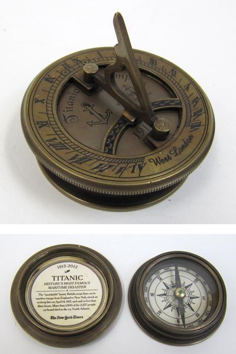 antique compass 2.75''