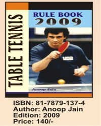 Table Tennis Rule Book