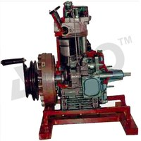 Cut Section Model Of Single Cylinder Diesel Engines
