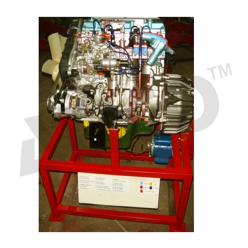 CUT SECTION MODEL OF FOUR CYLINDER FOUR STROKE DI ENGINE