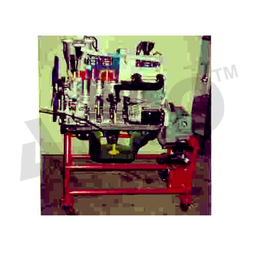 CUT SECTION MODEL OF SIX CYLINDER FOUR STROKE DIESEL ENGINE