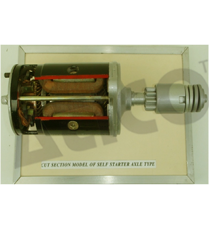 Self Starter Axle Type
