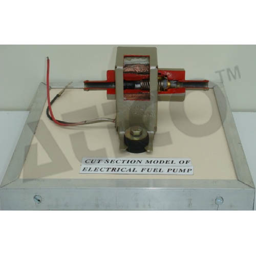 CUT SECTION MODEL OF ELECTRICAL FUEL PUMP