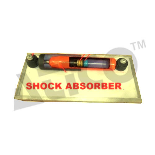 CUT SECTION MODEL OF SHOCK ABSORBER