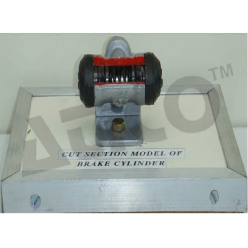 Cut Section Model Of Brake Cylinder