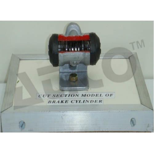 Cut Section Model Of Brake Cylinder