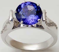 blue tanzanite engagement rings,womens ring onlin