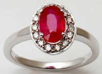 gold gemstone ruby ring, latest ruby ring design for daily wear, 2013 best ring design online