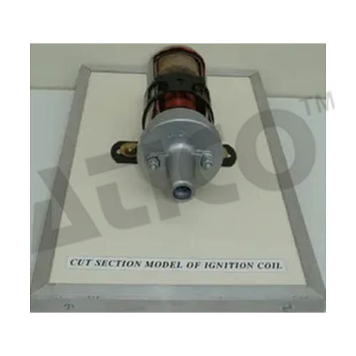 Cut Section Model Of Ignition Coil