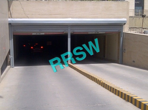 Flat Steel Security Rolling Shutter