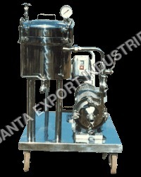 HORIZONTAL PLATE TYPE STAINLESS STEEL FILTER PRESS MODEL HP-68