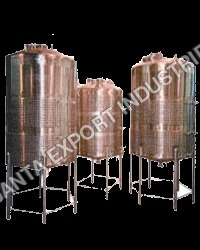 STAINLESS STBEL CYLINDRICAL TANKS