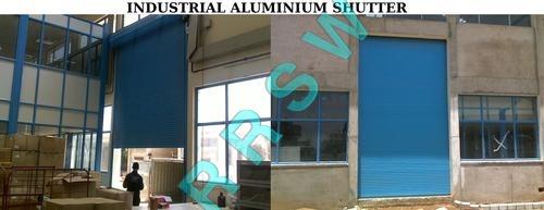Industrial Aluminium Motorised Shutter