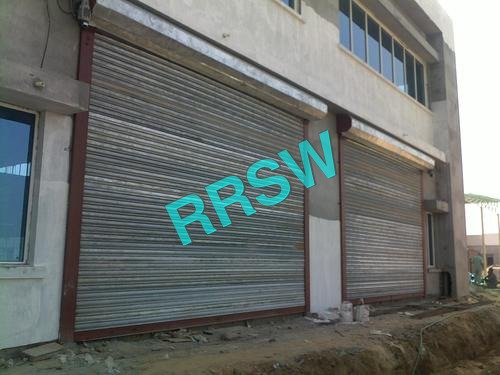 Industrial Steel Motorised Rolling Shutter