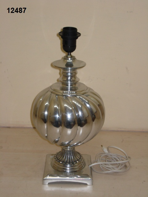 Aluminium Silver Lamp