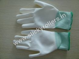 PU Palm Coated Cleanroom Gloves