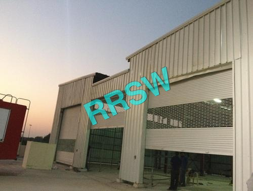 Industrial Steel Rolling Shutters