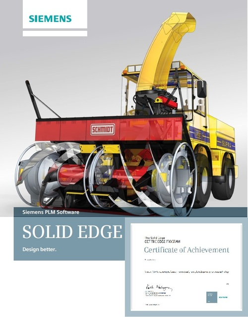 Solid Edge CAD Advance Training