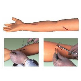 ADVANCED SURGICAL SUTURING ARM MODEL