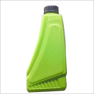Lubricant Plastic Green Bottle