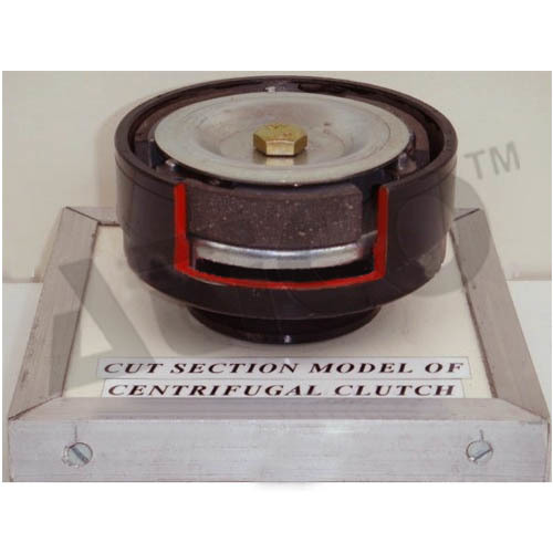 Cut Section Model Of Centrifugal Clutch