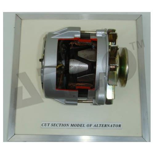 CUT SECTION MODEL OF  ALTERNATOR