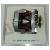 CUT SECTION MODEL OF  ALTERNATOR