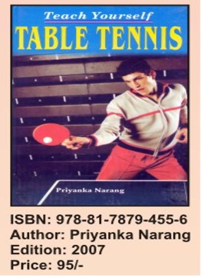 Teach Yourself Table Tennis