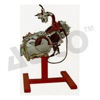 Four Stroke Single Cylinder Engine Assemble Model