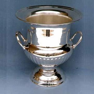 Wine Cooler, Silver Plated