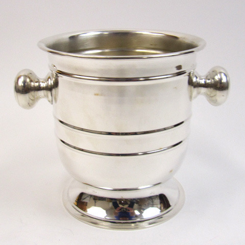 Silver-Plated Wine Cooler size: 7