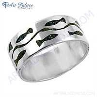 Attractive Wholesale Inley Sterling Silver Ring